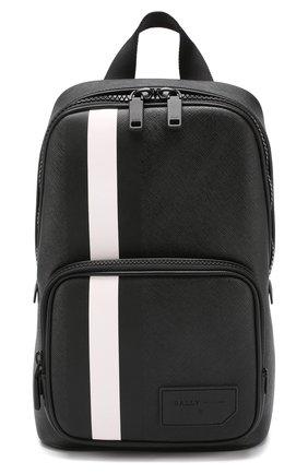 Мужской рюкзак sihorn BALLY черного цвета, арт. SIH0RN.0F/00 | Фото 1