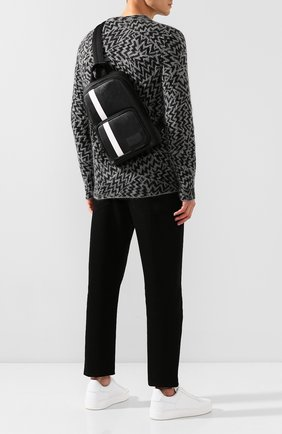 Мужской рюкзак sihorn BALLY черного цвета, арт. SIH0RN.0F/00 | Фото 2