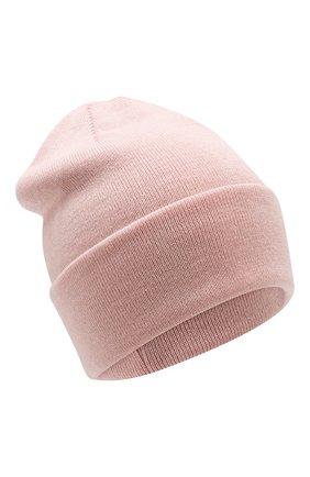Детского шерстяная шапка IL TRENINO розового цвета, арт. 18 7319/LR | Фото 1