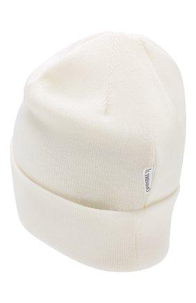 Детского шерстяная шапка IL TRENINO белого цвета, арт. 18 7319/LR | Фото 2