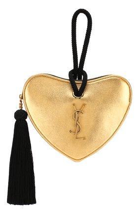 Женский сумка sac coeur SAINT LAURENT золотого цвета, арт. 584932/09E1W | Фото 1