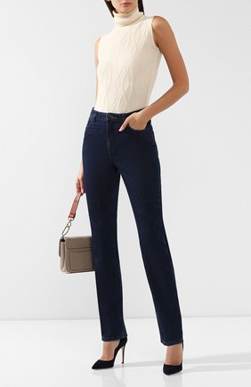 Женские джинсы LORO PIANA синего цвета, арт. FAI8679 | Фото 2