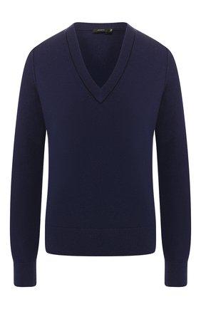 Женская кашемировый пуловер JOSEPH синего цвета, арт. JF003311 | Фото 1