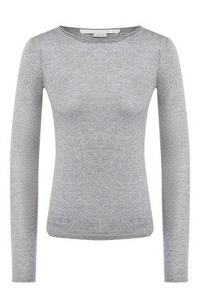 Женская шерстяной пуловер STELLA MCCARTNEY серого цвета, арт. 573722/S1735   Фото 1