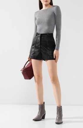 Женская шерстяной пуловер STELLA MCCARTNEY серого цвета, арт. 573722/S1735   Фото 2
