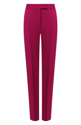 Женские шерстяные брюки STELLA MCCARTNEY фиолетового цвета, арт. 571968/SHB55 | Фото 1
