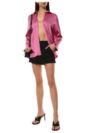 Женские шорты ALICE + OLIVIA черного цвета, арт. W000133198 | Фото 2