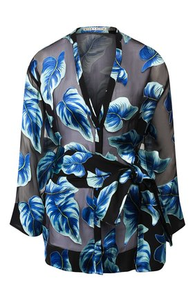 Блузка из смеси вискозы и льна | Фото №1
