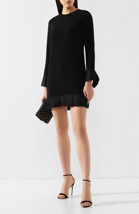 Женское платье VICTORIA, VICTORIA BECKHAM черного цвета, арт. DRVV 680 PAW19 S0FT CREPE | Фото 2
