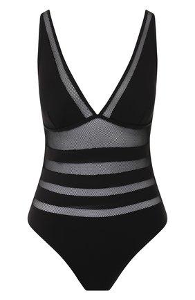 Женский слитный купальник ZIMMERMANN черного цвета, арт. 5866WSUR | Фото 1