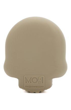 Мужского портативный аккумулятор skull MOJI POWER серого цвета, арт. MP001SK | Фото 2