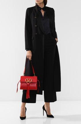 Женская сумка valentino garavani vring small VALENTINO красного цвета, арт. SW2B0E03/NKL | Фото 2