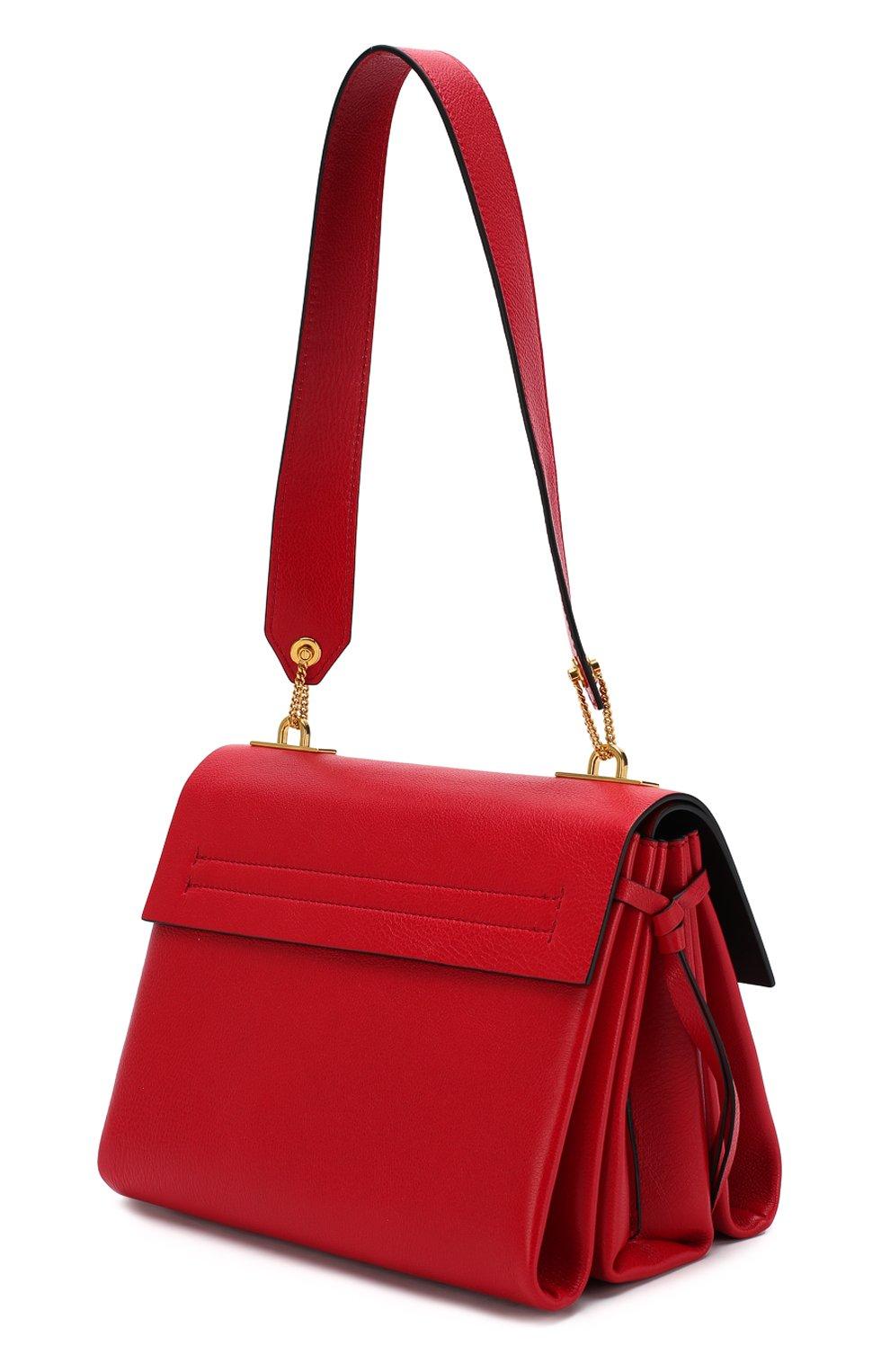 Женская сумка valentino garavani vring small VALENTINO красного цвета, арт. SW2B0E03/NKL | Фото 3