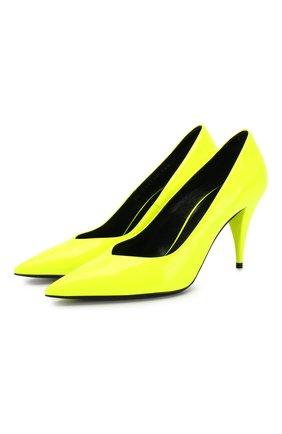 Кожаные туфли Kiki | Фото №1