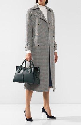 Женская сумка d-styling TOD'S зеленого цвета, арт. XBWANYH0300XPA | Фото 2