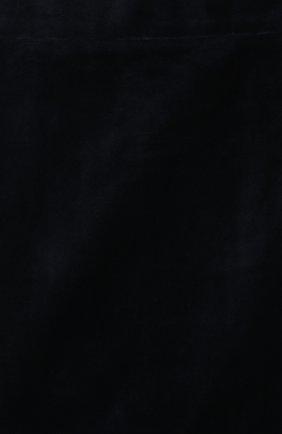 Детская бархатная юбка CAF синего цвета, арт. 53-VL-AI1819/6A-8A   Фото 3 (Случай: Повседневный; Материал внешний: Хлопок; Статус проверки: Проверено; Материал подклада: Вискоза; Ростовка одежда: 8 лет   128 см)