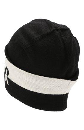 Детского шерстяная шапка MONCLER ENFANT черного цвета, арт. E2-954-99240-00-A9195 | Фото 2