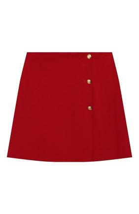 Детская юбка DAL LAGO красного цвета, арт. R292/8111/13-16 | Фото 1