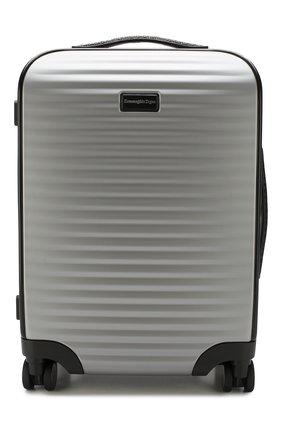 Мужской дорожный чемодан leggerissimo ERMENEGILDO ZEGNA серого цвета, арт. C1375X-LHPCT | Фото 1