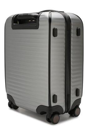 Мужской дорожный чемодан leggerissimo ERMENEGILDO ZEGNA серого цвета, арт. C1375X-LHPCT | Фото 2
