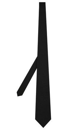Мужской галстук из смеси шерсти и кашемира ZEGNA COUTURE темно-синего цвета, арт. Z6H38/16T | Фото 2