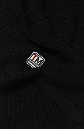 Мужской шерстяной шарф Z ZEGNA черного цвета, арт. Z6K51/2WS | Фото 2