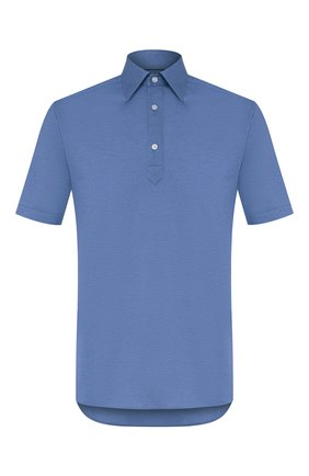 Мужское хлопковое поло ETON синего цвета, арт. 0562 62506   Фото 1