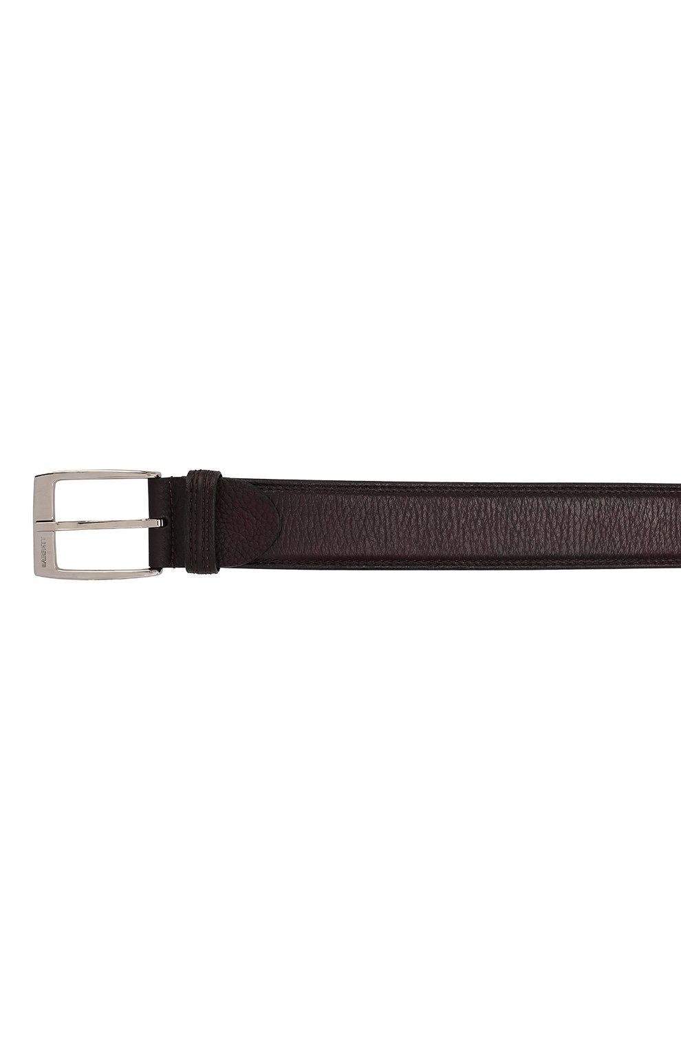 Мужской кожаный ремень BARRETT бордового цвета, арт. 81B537.6/CERV0 ASP | Фото 3