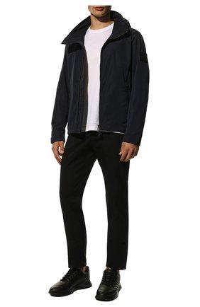 Мужская куртка BURBERRY синего цвета, арт. 8014364 | Фото 2