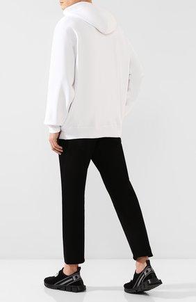 Мужские текстильные кроссовки sorrento DOLCE & GABBANA черного цвета, арт. CS1713/AA107   Фото 2