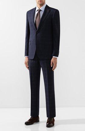 Мужская хлопковая сорочка PAL ZILERI голубого цвета, арт. P370G45----B0226 | Фото 2