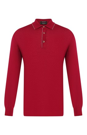 Мужское шерстяное поло SVEVO красного цвета, арт. 13065SA19/MP13   Фото 1