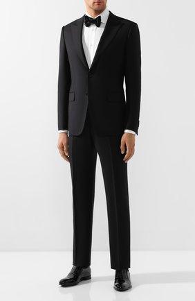 Мужские кожаные лоферы BARRETT черного цвета, арт. 142U096.1/VERNICE | Фото 2