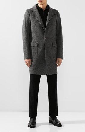 Мужские кожаные лоферы BARRETT черного цвета, арт. 142U096.16/CERV0 | Фото 2