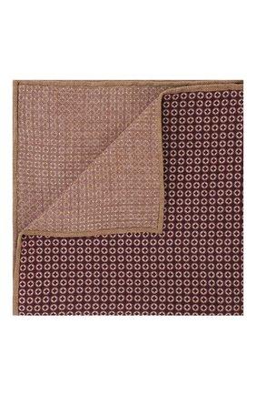 Мужской шелковый платок BRUNELLO CUCINELLI фиолетового цвета, арт. ML8390091 | Фото 1