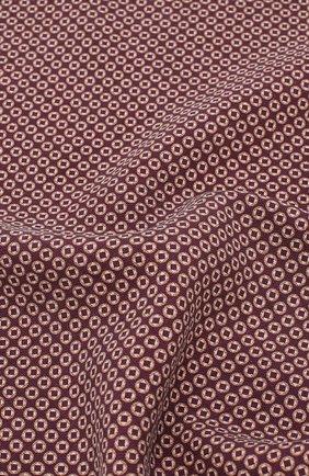 Мужской шелковый платок BRUNELLO CUCINELLI фиолетового цвета, арт. ML8390091 | Фото 2