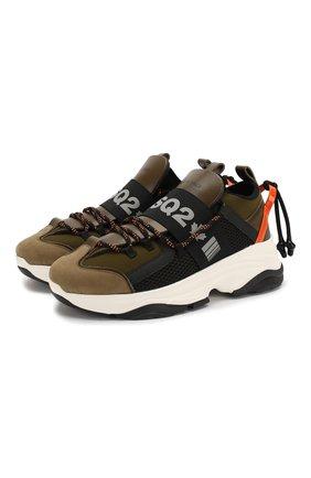 Комбинированные кроссовки D-Bumpy | Фото №1
