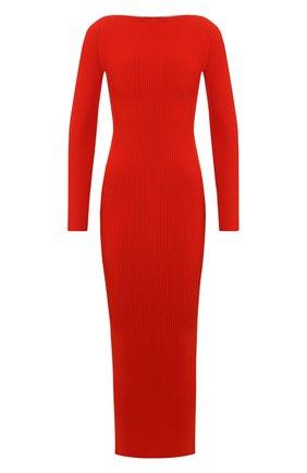 Женское платье ALEXANDER WANG красного цвета, арт. 1KC2196120 | Фото 1