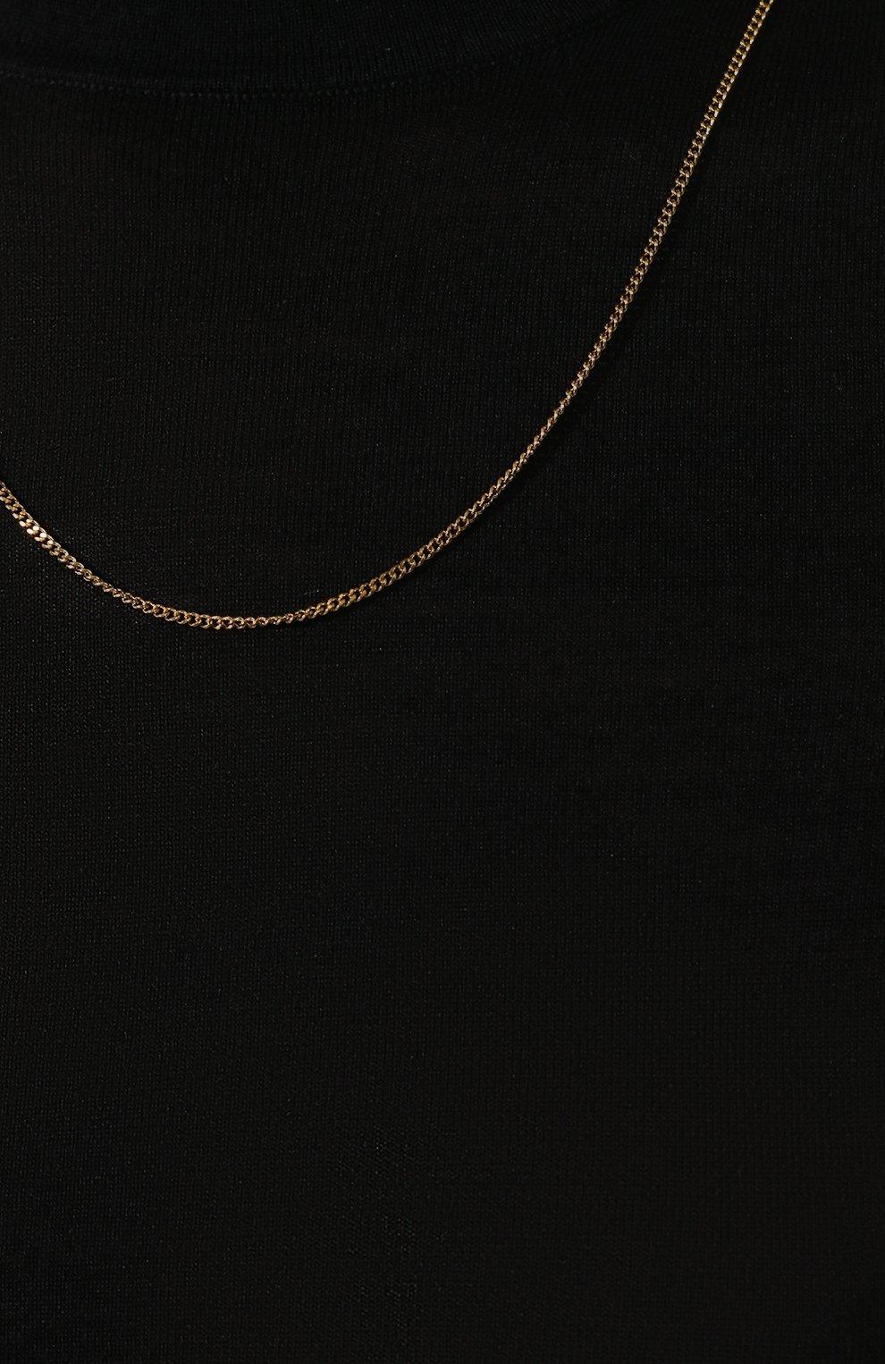 Водолазка из смеси шерсти и шелка   Фото №5