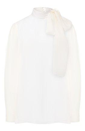 Блузка из смеси вискозы и шелка | Фото №1