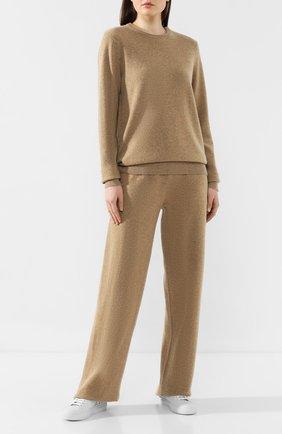 Женский кашемировый пуловер EXTREME CASHMERE бежевого цвета, арт. 036/BE CLASSIC | Фото 2