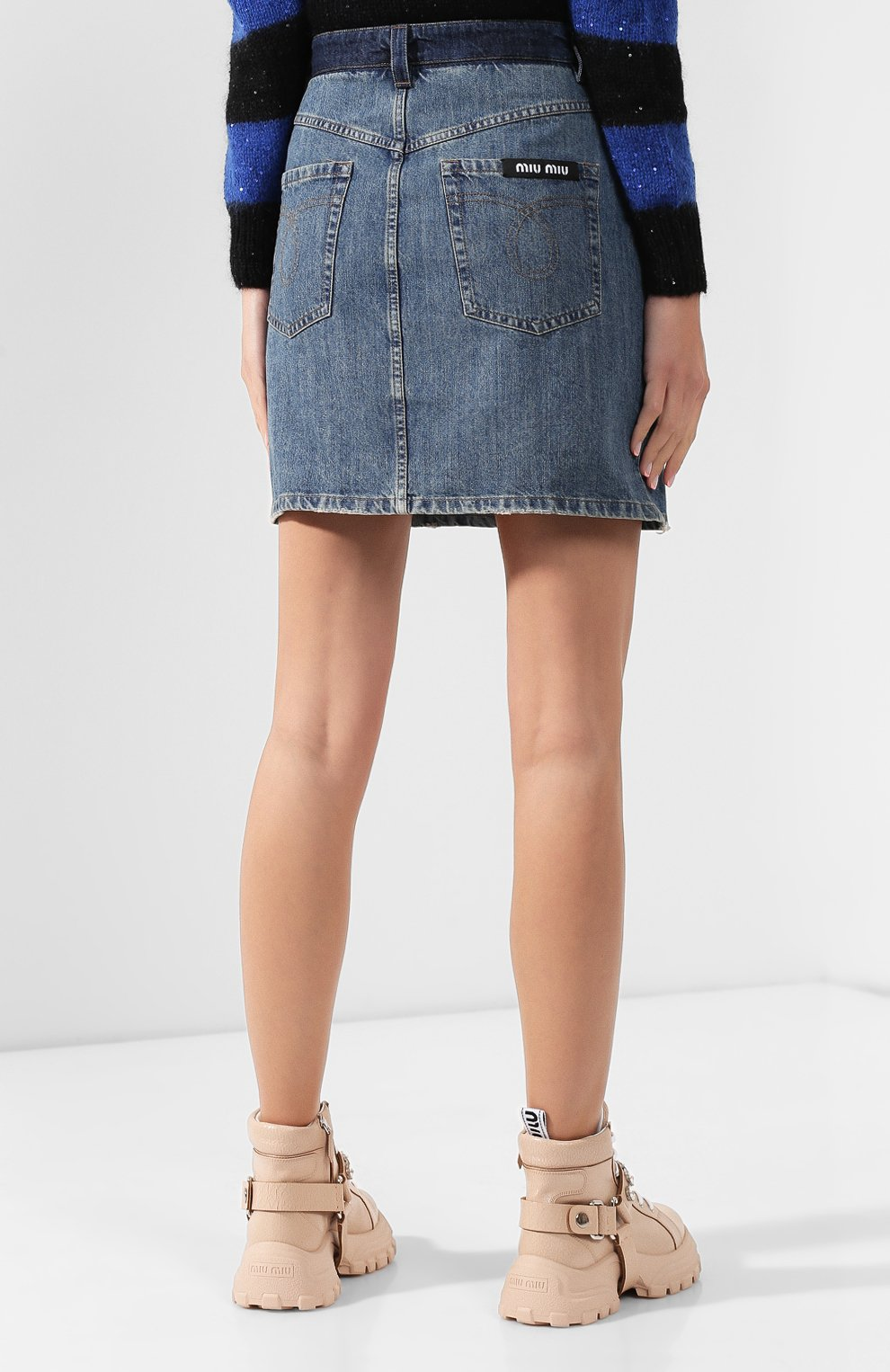 Джинсовая юбка   Фото №4