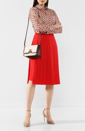 Женская сумка tb bag small BURBERRY бежевого цвета, арт. 8014640   Фото 2