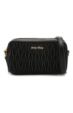 Женская поясная сумка MIU MIU черного цвета, арт. 5BL005-N88-F0002-COO | Фото 7