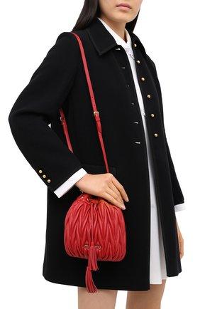 Женский сумка MIU MIU красного цвета, арт. 5BE014-N88-F068Z-OOO | Фото 2