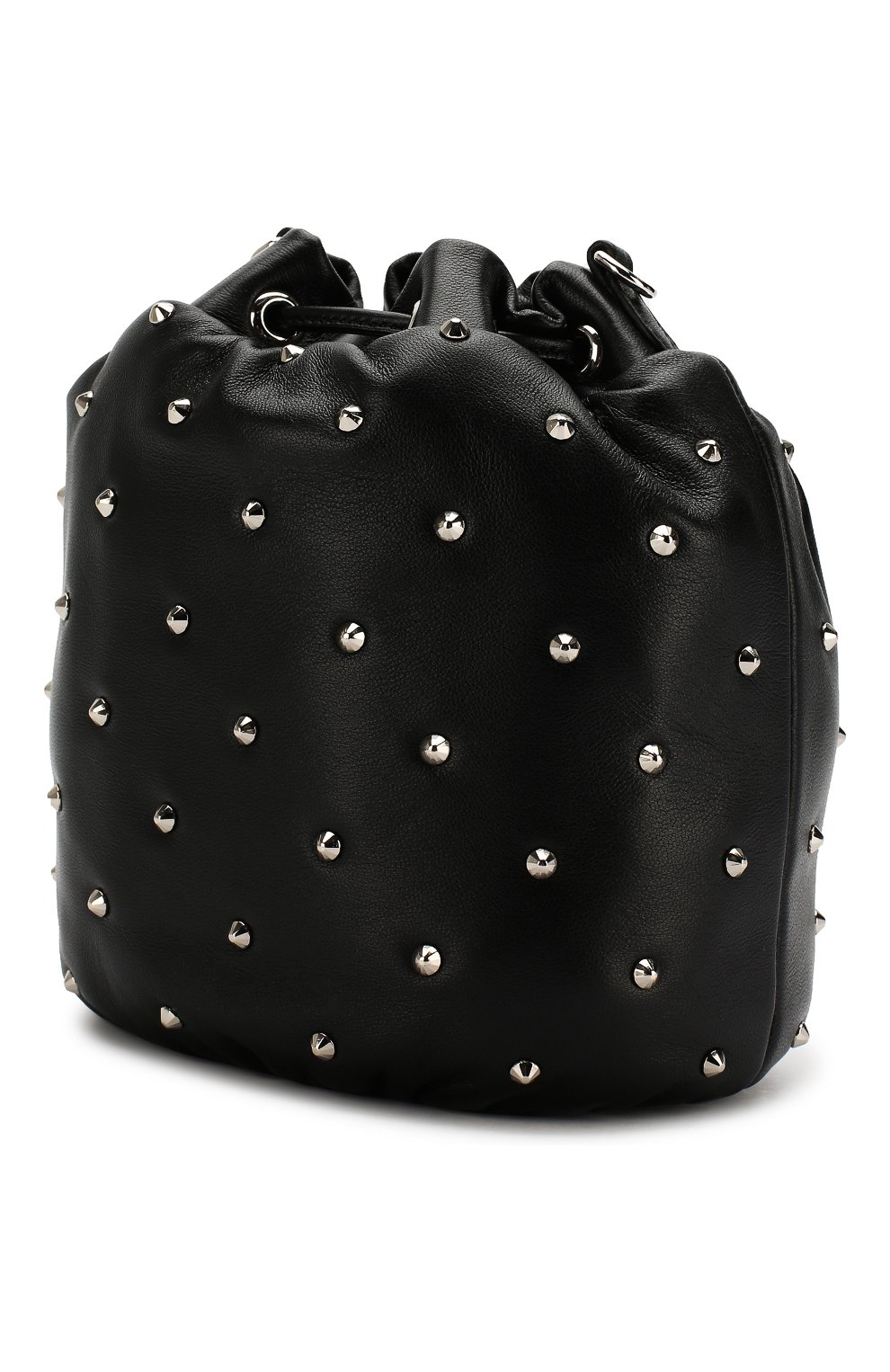 Женский рюкзак из кожи MIU MIU черного цвета, арт. 5BE014-2B6I-F0002-OBO | Фото 3