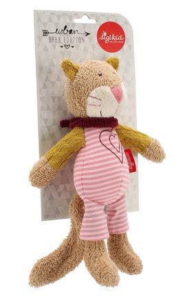 Детского игрушка котик SIGIKID разноцветного цвета, арт. 39029 | Фото 2