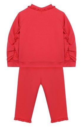 Детский комплект из кардигана и брюк EMPORIO ARMANI разноцветного цвета, арт. 6GEV03/3J2PZ | Фото 2