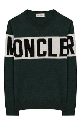 Шерстяной пуловер   Фото №1