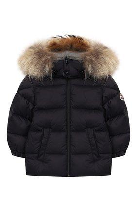 Детский комплект из куртки и комбинезона MONCLER ENFANT синего цвета, арт. E2-951-70335-25-53079   Фото 3